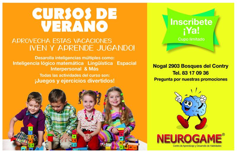 Promoción Neurogame Curso de Verano