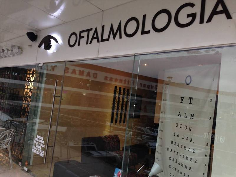 Oftalmología. Plaza Tanarah