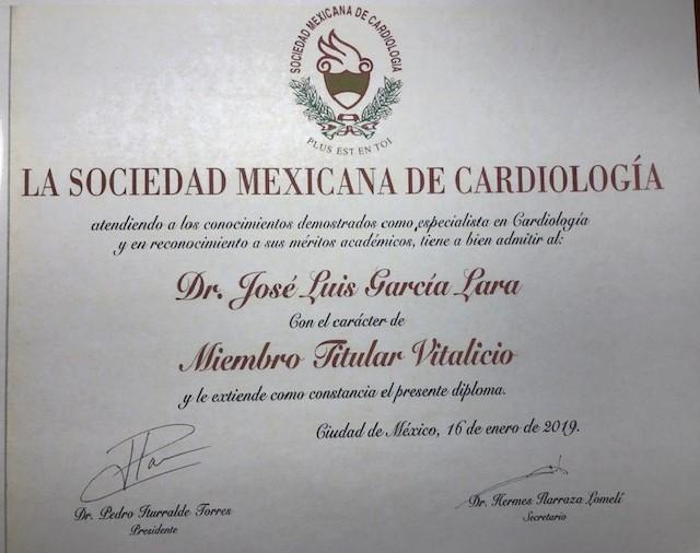 Dr Luis Garcia Lara