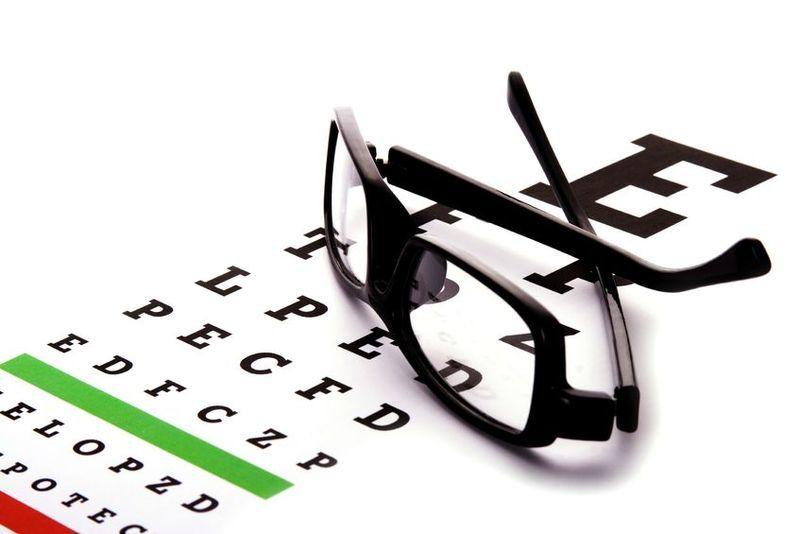 Servicio de optica y examen de la vista